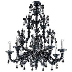"Monumental Barovier & Toso ""Taif"" Chandelier"