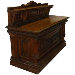 Late Victorian 'circa 1900' Oak Country House Sideboard