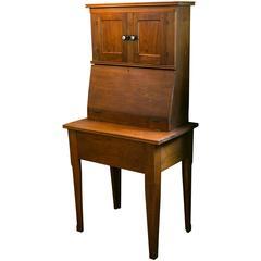 Antique American Walnut Secretary