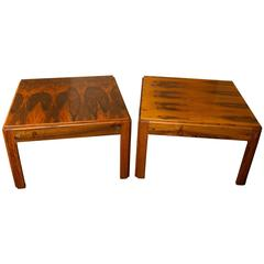 Pair of Illum Wikkelso Side Tables