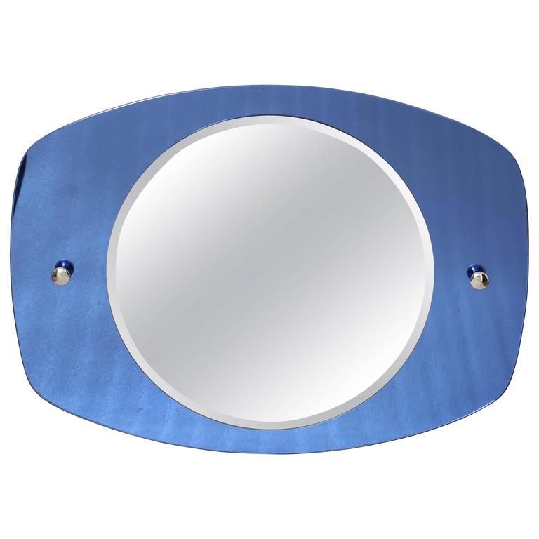 Mid-Century Wall Mirror, Italian circa 1950s