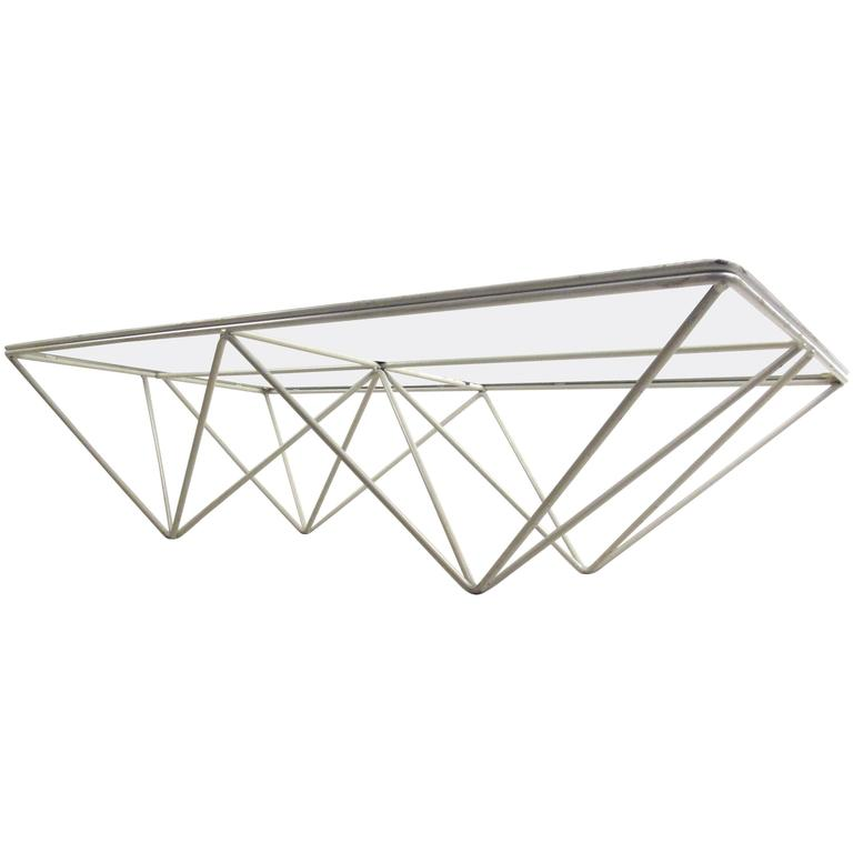 "Pyramid ""Alanda"" Coffee Table Attributed to Paolo Piva For Sale"
