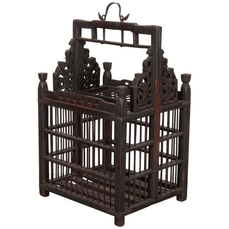 19th Century Chinese Birdcage
