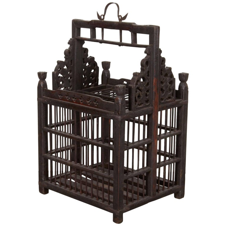 19th Century Chinese Birdcage For Sale