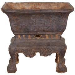 Early 19th Century Cast Iron Incense Burner