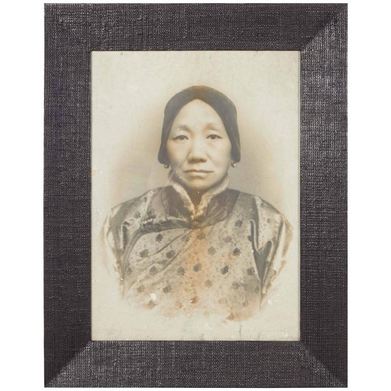 Large-Scale Antique Ancestor Photograph