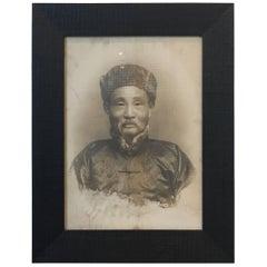 Large-Scale Antique Ancestor Photograph