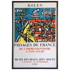 Vintage Fernand Leger Poster