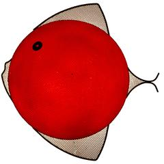 Rare American Mid-Century Fish Wall Lamp by Frederick Weinberg, 1950s