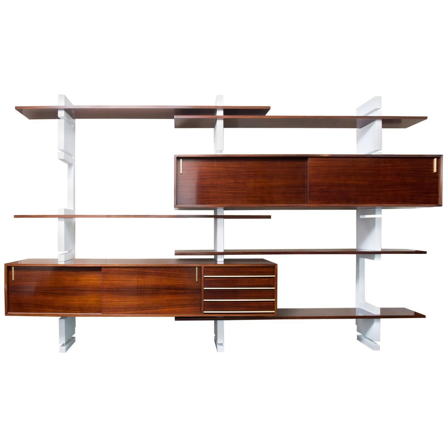 Amma, Wall-Mounted Bookcase at 1stdibs