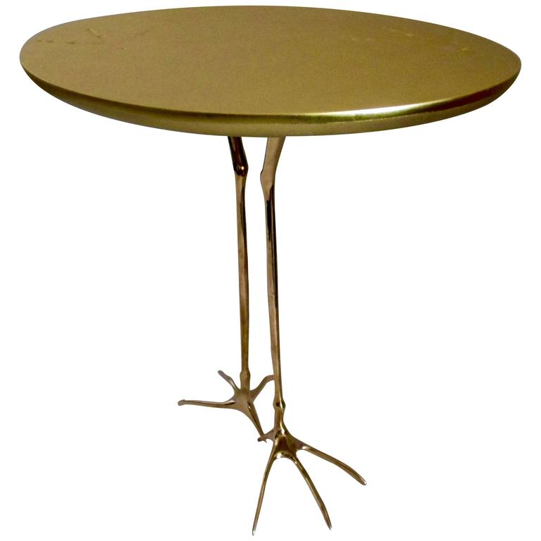 End/ Side Table, W50 Traccia Bird Table By Meret Oppenheim 1