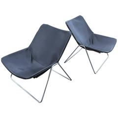 Pierre Guariche for Airborne Pair of G1 Chairs, 1970s