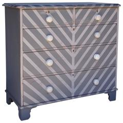 English Dresser with Painted Finish