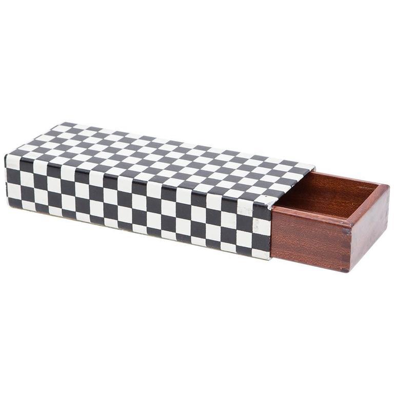 Old Piero Fornasetti Box 'j' For Sale
