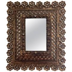 Antique Spanish Colonial Mirror