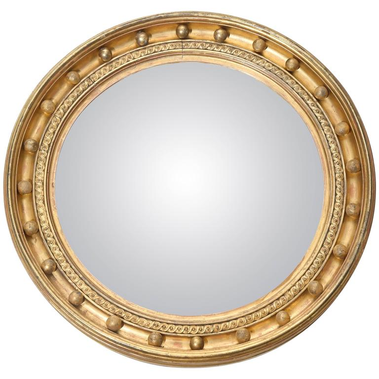 19th century convex mirror with original glass for sale at for Convex mirror for home