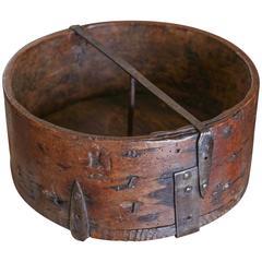 18th Century Grain Measure Container