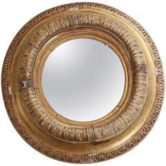 18th Century Round Mirror