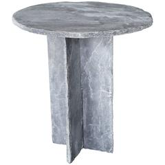 Hand Chiseled Slate Table from France