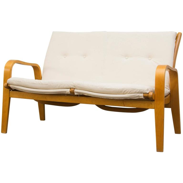 Cees Braakman Birch Loveseat for Pastoe