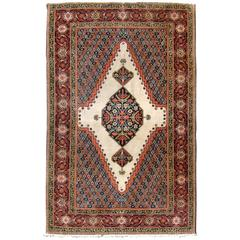 Antique Persian Fereghan Rug
