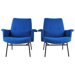 Pair of Armchairs by Pierre Guariche, Steiner, 1950s