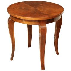 Moderne Side Table, circa 1940