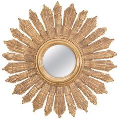 a sunburst mirror