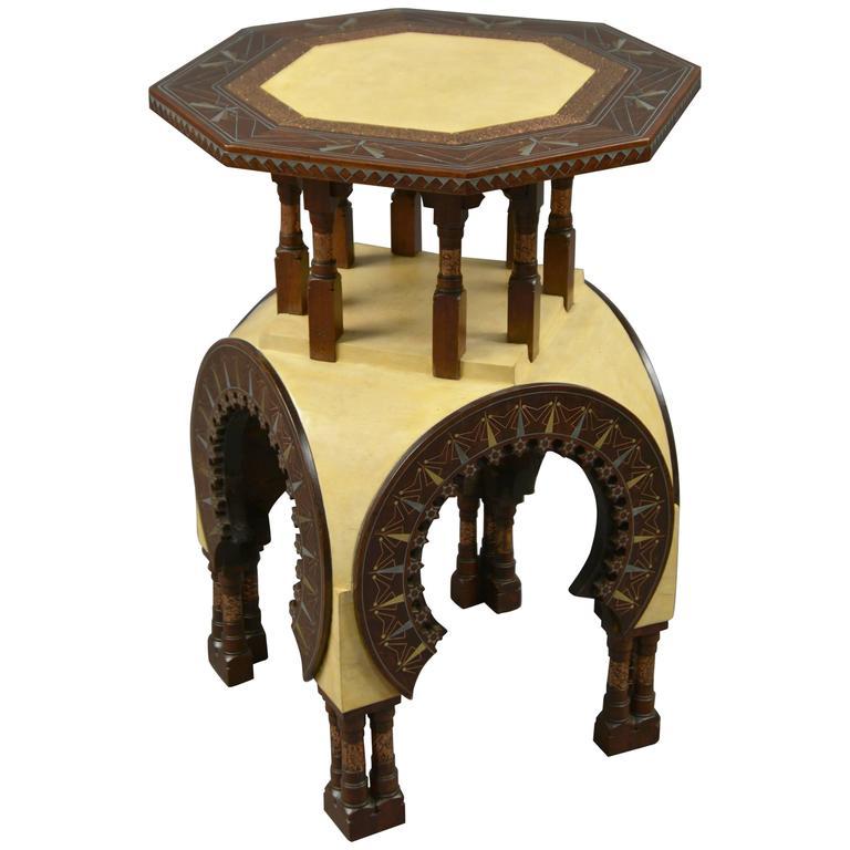 Table by Carlo Bugatti, Italy, circa 1900 1