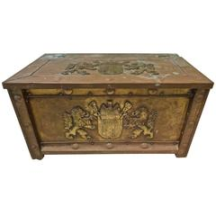 Netherlands, Amsterdam Copper-Clad Chest or Trunk