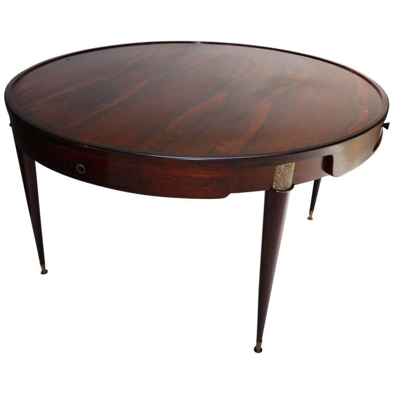 1960s Brazilian Jacaranda Center / Card Table