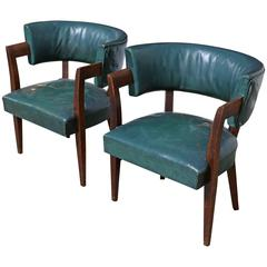 Pair of Iconic Chairs by Eugene Schoen
