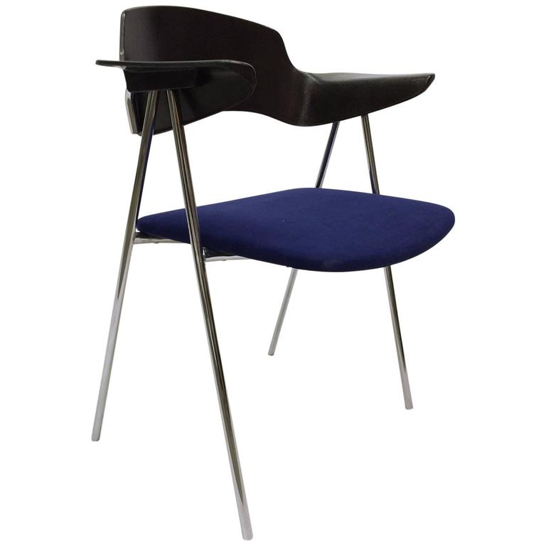 French Desk Chair By Claude Vassal