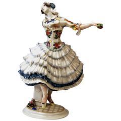 Meissen Chiarina Russian Ballet Dancer created by Paul Scheurich c.1924-34
