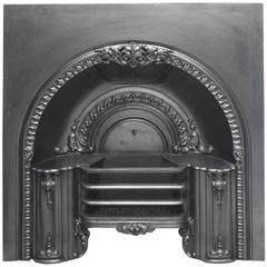Mid-19th Century Reclaimed Arched Hob Register Grate