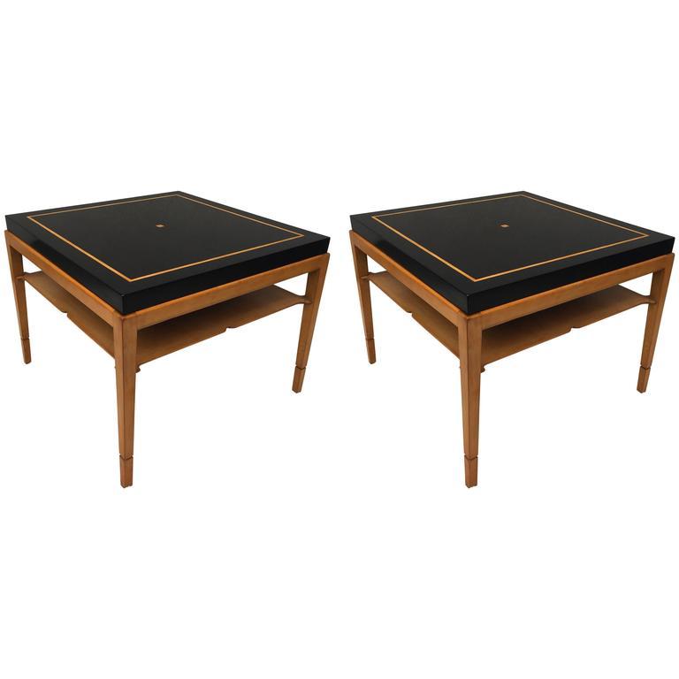 Pair of Tommi Parzinger for Parzinger Originals Tables