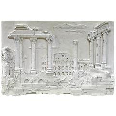 Plaster Wall Hanging of a Classical Scene