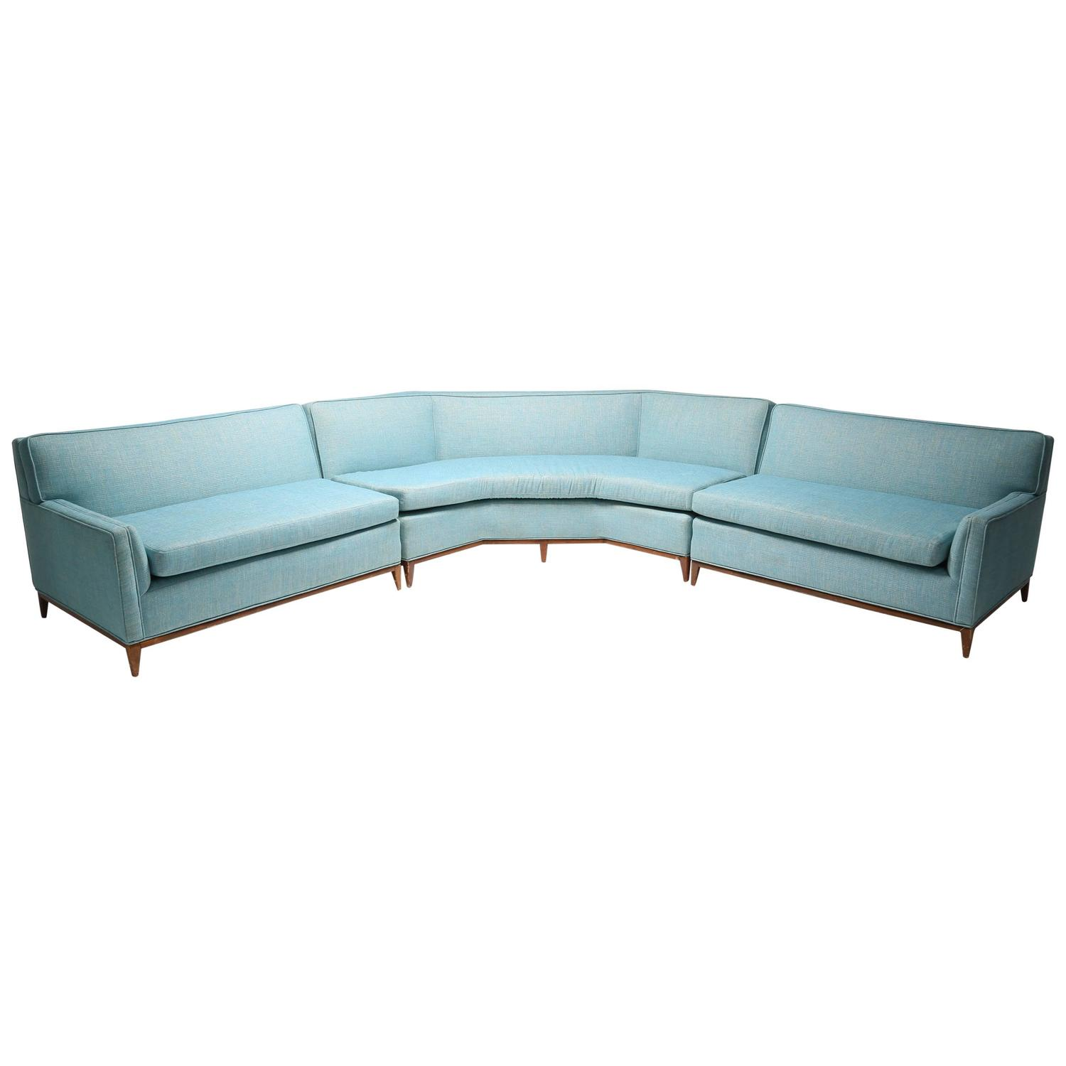 Mid Century Sectional Sofa At 1stdibs