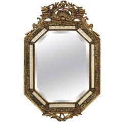 Napoleon III Style Giltwood Mirror