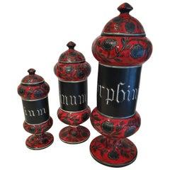 Italian Ceramic Decanters by Alvino Bagni