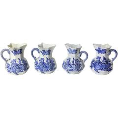 Set of Four Mason Ironstone Ewers