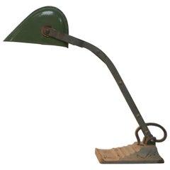 Art Deco Bankers Lamp, 1930s