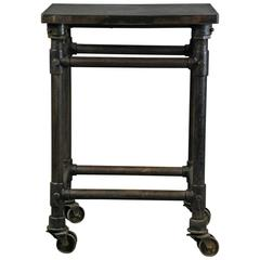 1920 Cast Iron Industrial Turtle Table