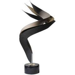 Elegant Curtis Jere Table Art Sculpture