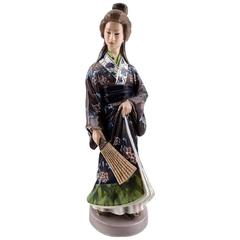 Porcelain Figurine No. 1159, Japanese Woman by Jens Peter Dahl-Jensen