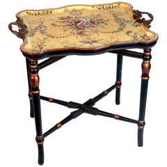 Porcelain Tray Table