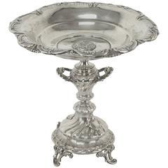 19th Century Russian Imperial Silver Tazza