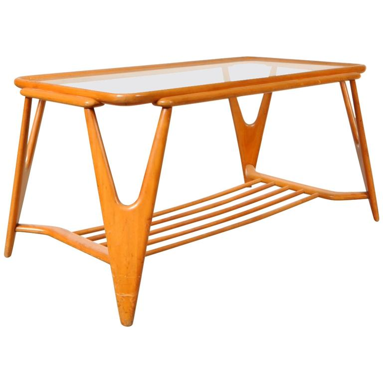 Coffee Table in the Style of Cesare Lacca, Italy, circa 1950