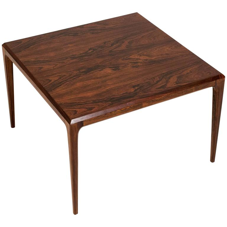 Elegant Mid-Century Modern Coffee Table by Johannes Andersen, 1960s