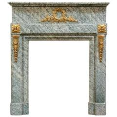 Empire French Marble Mantel